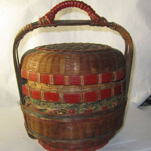chinese lunch wedding basket ching dynasty